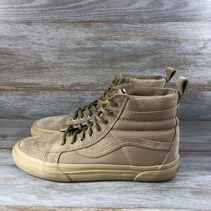 Vans Sk8-Hi Suede Skate Sneakers